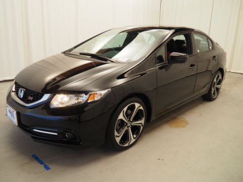 Certified Pre-Owned 2015 Honda Civic 4dr Man Si FWD 4dr Car