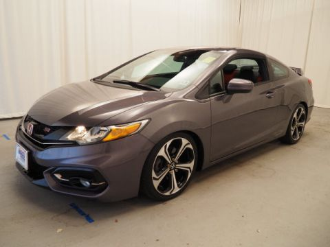 Certified Pre-Owned 2015 Honda Civic 2dr Man Si FWD 2dr Car