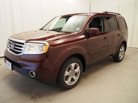 Certified Pre-Owned 2013 Honda Pilot 4WD 4dr EX-L 4WD Sport Utility