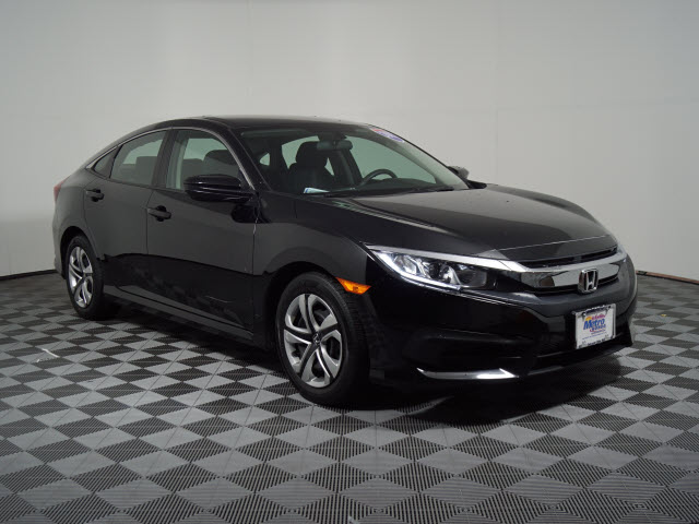 Certified Pre-Owned 2017 Honda Civic LX CVT
