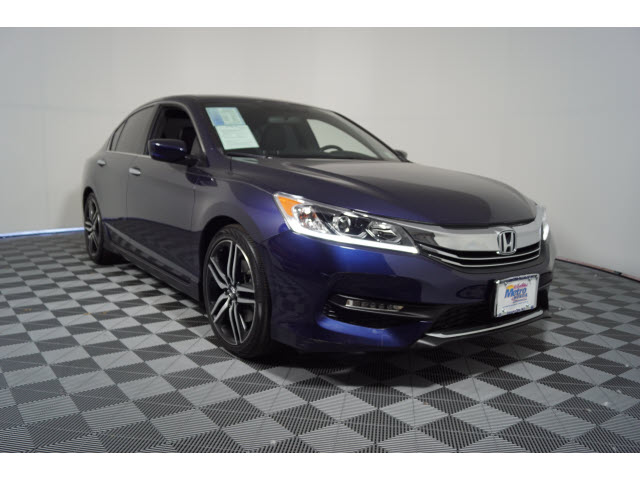 Certified Pre-Owned 2016 Honda Accord 4dr I4 CVT Sport