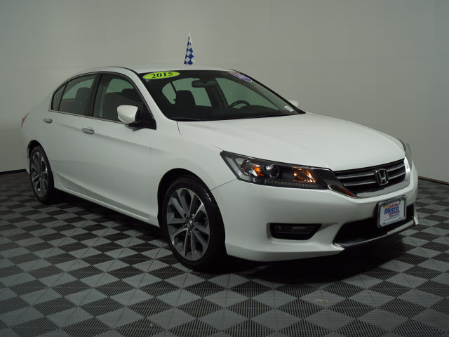 Certified Pre-Owned 2015 Honda Accord 4dr I4 CVT Sport