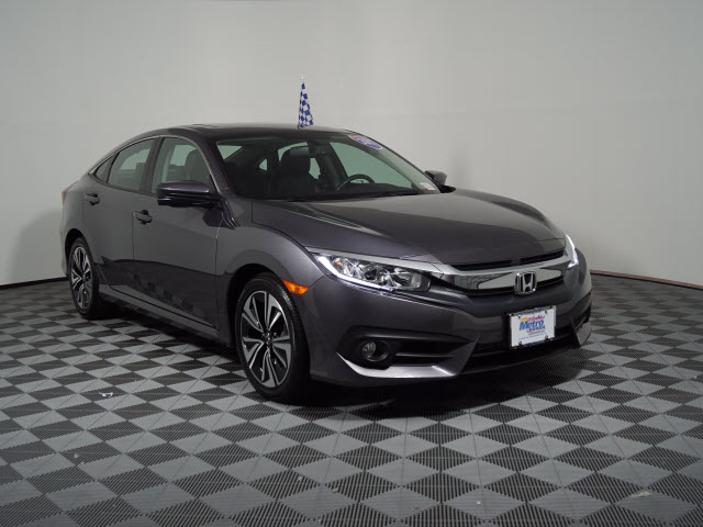 Certified Pre-Owned 2017 Honda Civic EX-L CVT