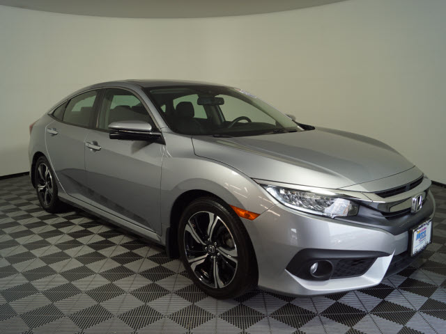 Certified Pre-Owned 2016 Honda Civic 4dr CVT Touring