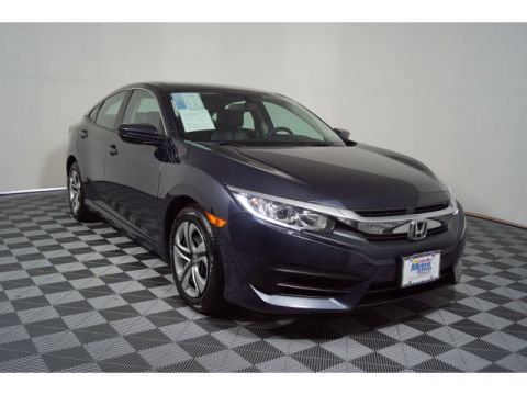 Certified Pre-Owned 2016 Honda Civic 4dr CVT LX