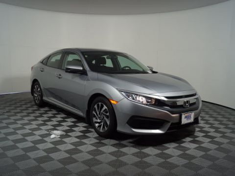 Certified Pre-Owned 2017 Honda Civic EX CVT
