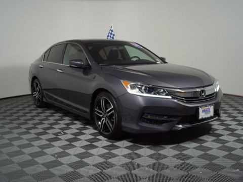Certified Pre-Owned 2017 Honda Accord Sport CVT
