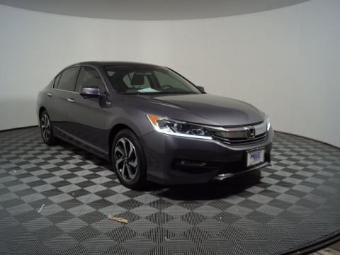 Certified Pre-Owned 2017 Honda Accord EX CVT