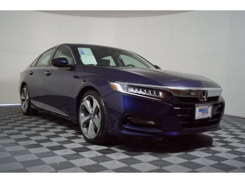 Certified Pre-Owned 2018 Honda Accord Touring 1.5T CVT