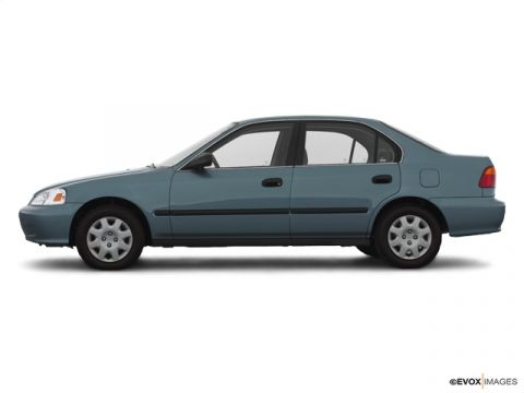 Pre-Owned 2000 Honda Civic 4dr Sdn LX Auto