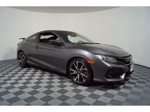 Certified Pre-Owned 2017 Honda Civic Si Manual