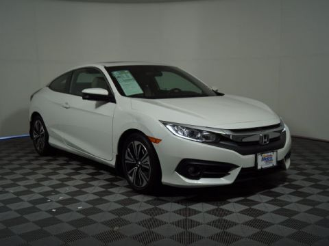 Certified Pre-Owned 2016 Honda Civic 2dr CVT EX-T