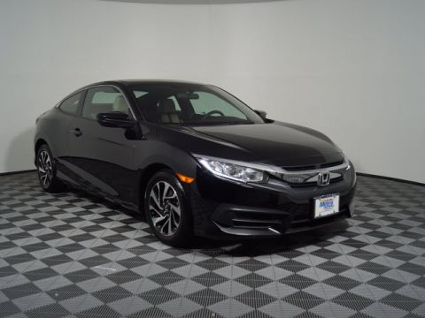Certified Pre-Owned 2018 Honda Civic LX-P CVT