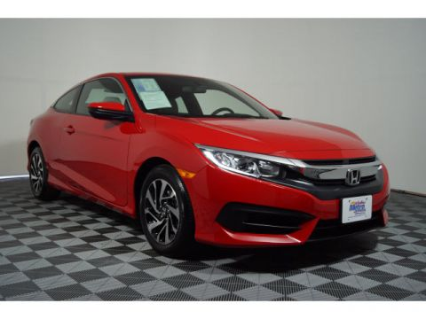 Certified Pre-Owned 2018 Honda Civic LX CVT