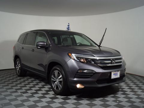 Certified Pre-Owned 2017 Honda Pilot EX-L w/Navigation AWD
